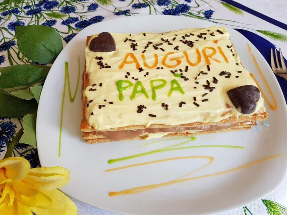 Torta Crema Mascarpone e Cioccolato
