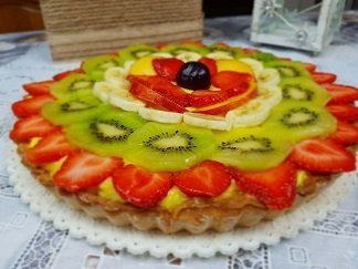 Video Crostata di Frutta Fresca