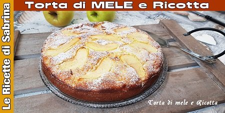 VIDEO TORTA DI MELE E RICOTTA