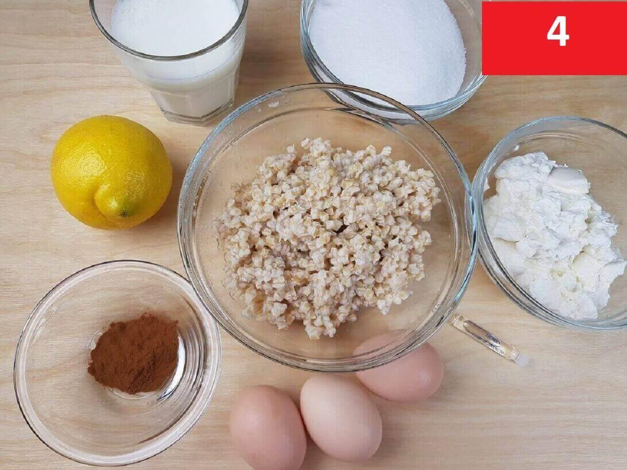 Ingredienti  Ripieno Pastiera Napoletana