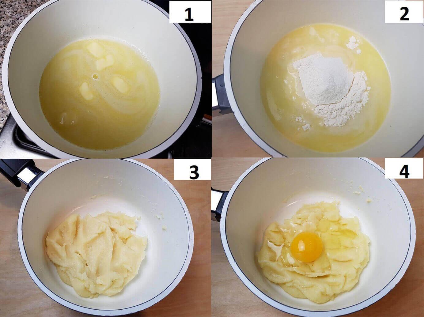 Come fare il profitterol al pistacchio
