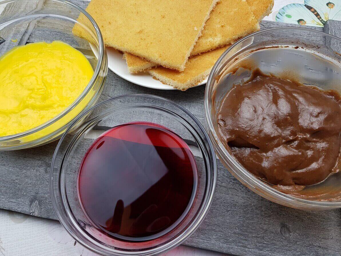 Ingredienti Zuppa Inglese