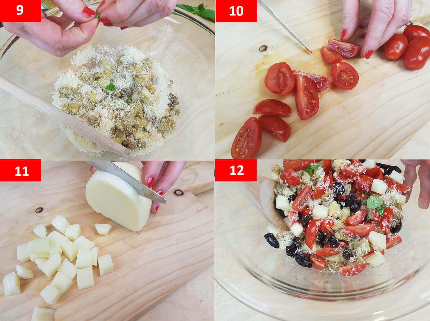 Barchette di melanzane al forno