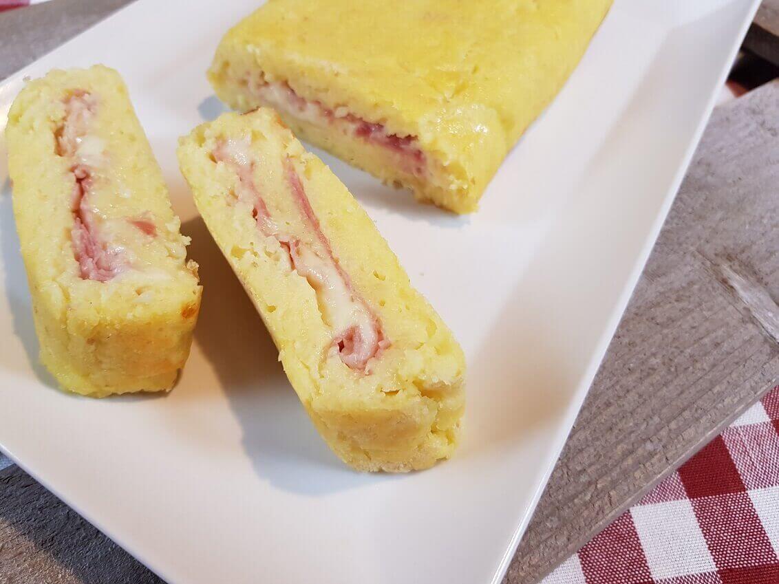 Rotolo di Patate Ripieno al formaggio