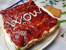 Torta Fette Biscottate Mascarpone e Marmellata