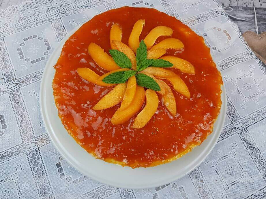 Cheesecake con Albicocche