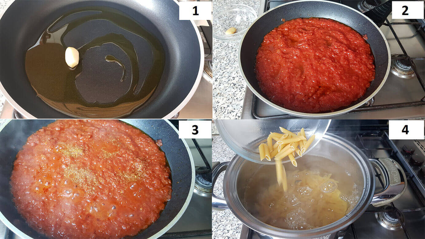 Come si fa la pasta all arrabbiata