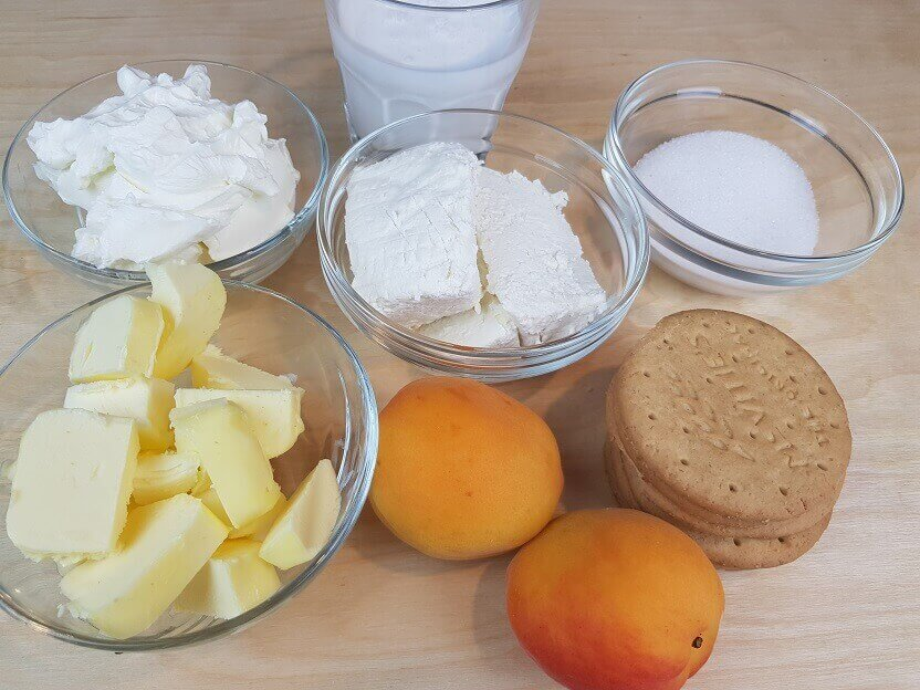 Ingredienti cheesecake