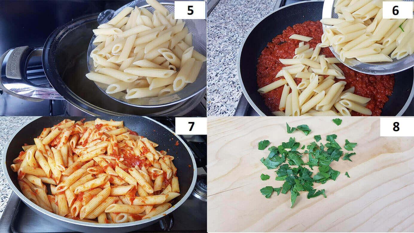 Ricette Pasta all'arabbiata