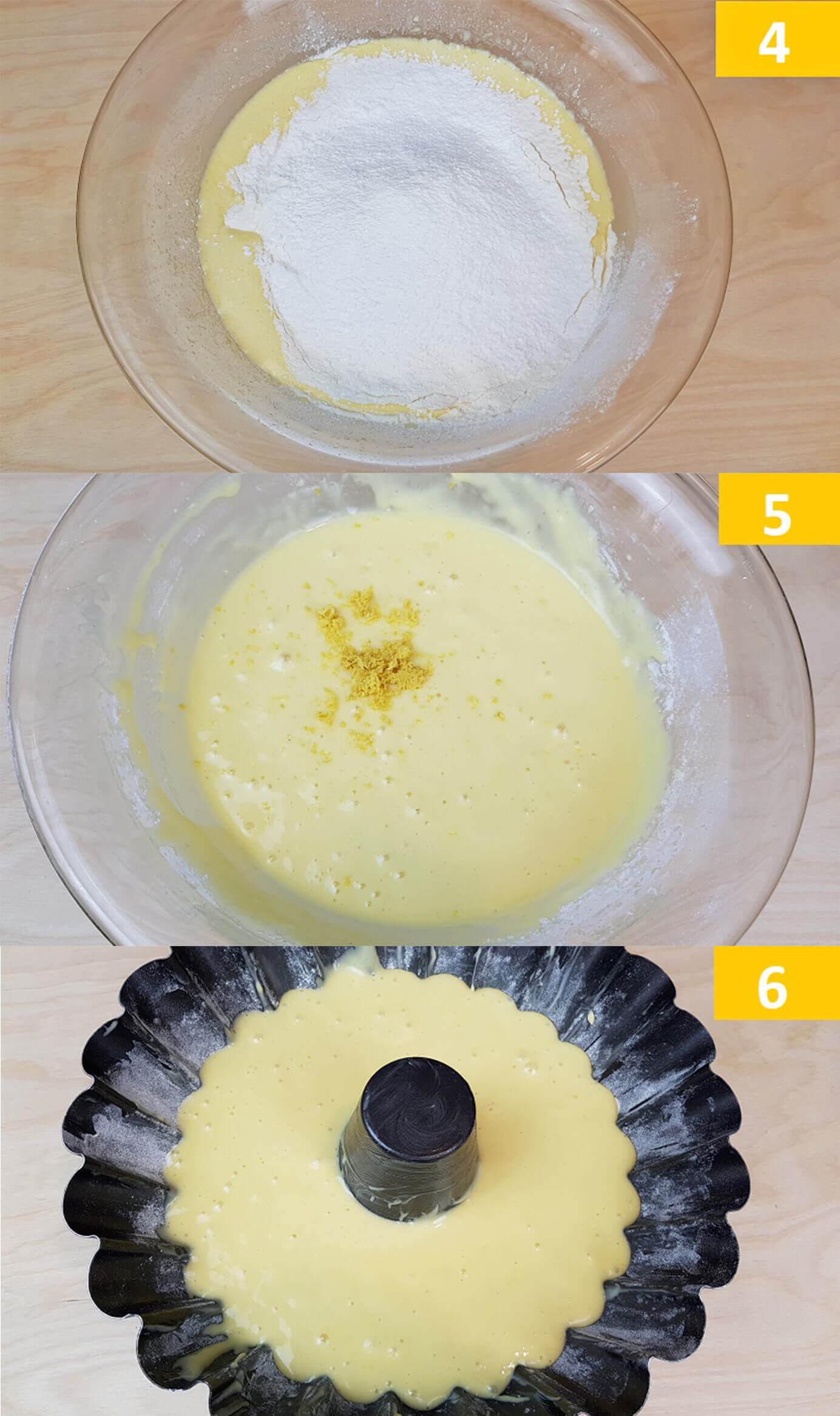 Composizione Ricetta Torta Yogurt