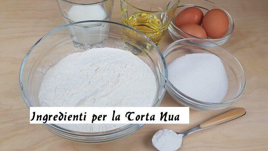 Ingredienti per la Torta