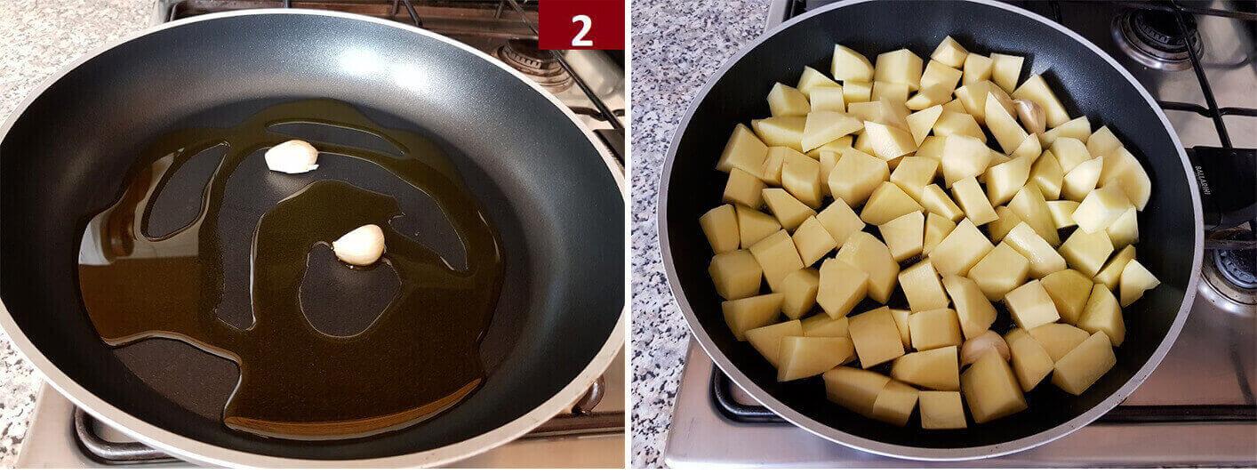 Rosolare le Patate