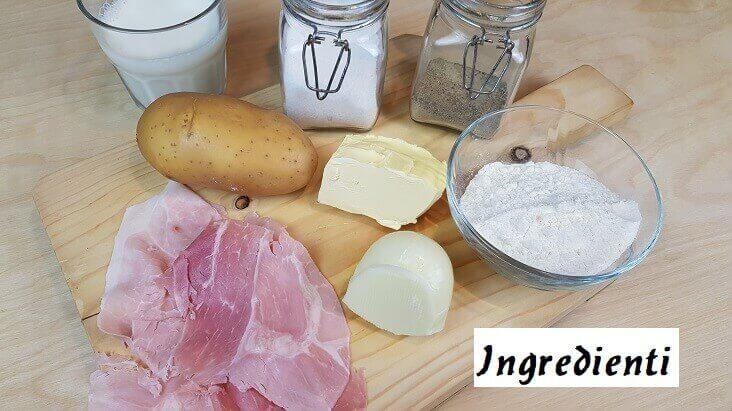Ingredienti Parmigiana di Patate al Forno