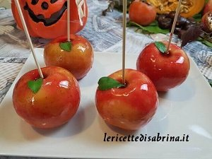 Mele Caramellate di Halloween