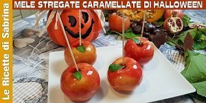 VIDEO MELE STREGATE CARAMELLATE DI HALLOWEEN