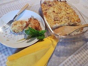 Pasticcio di Patate con Prosciutto Cotto