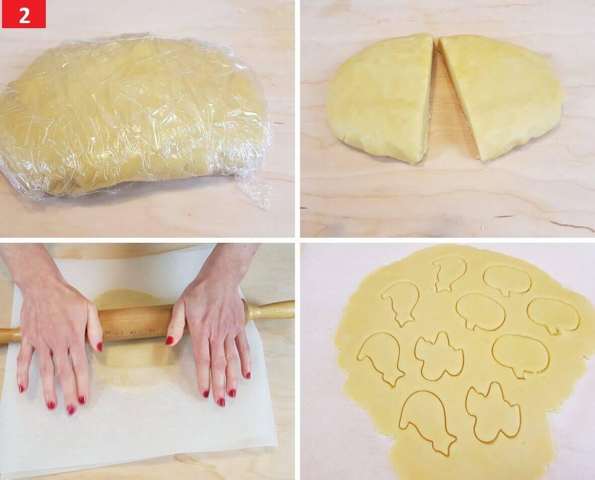 Stendere con un Mattarello la Pasta Frolla