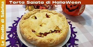 VIDEO TORTA SALATA DI HALLOWEEN CON ZUCCA E PATATE LESSATE