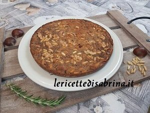 Torta Castagnaccio