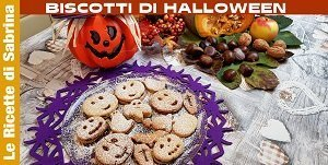 VIDEO BISCOTTI DI HALLOWEEN