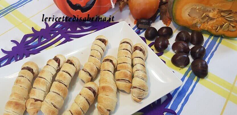 Wurstel Mummia con Pasta Sfoglia
