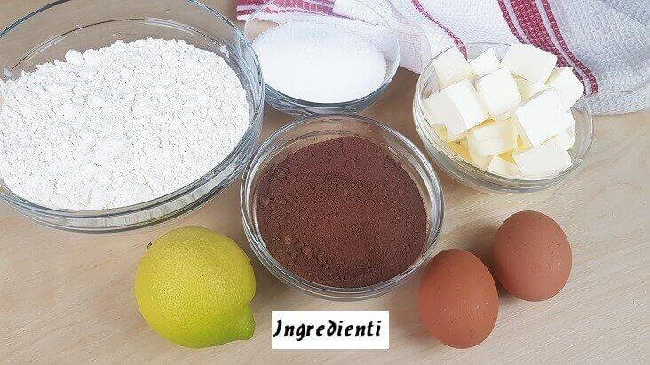 Ingredienti per Biscotti di Natale