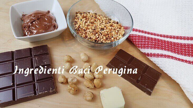Ingredienti per Fare i Baci Perugina Fatti in Casa