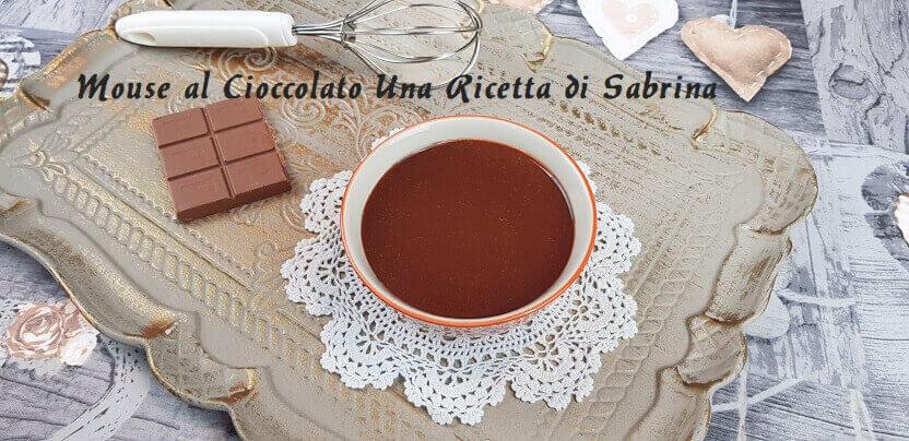 Mouse GANACHE al Cioccolato