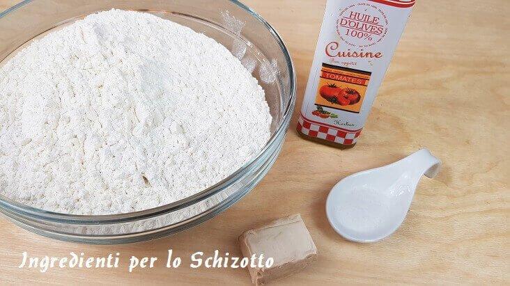Ingredienti per Preparare lo Schizoto Veneto