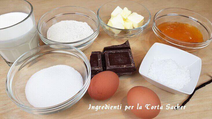 Torta Sacher Ingredienti