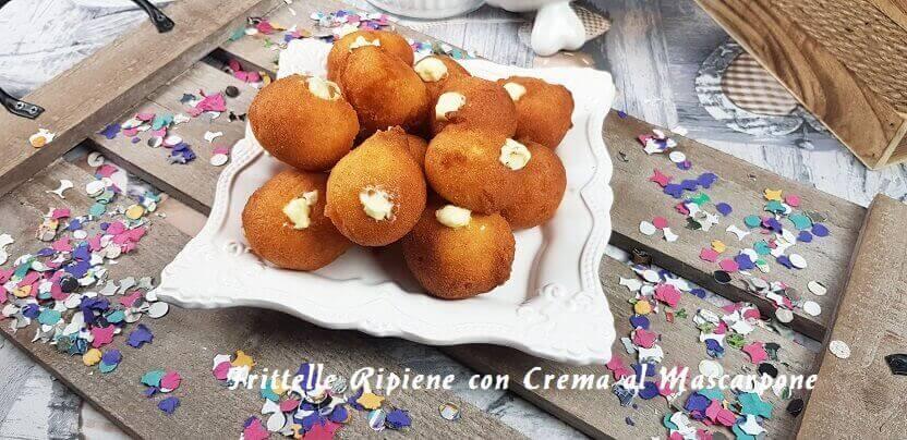 Frittelle Con Crema di Mascarpone