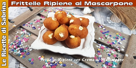 VIDEO FRITTELLE CON CREMA DI MASCARPONE