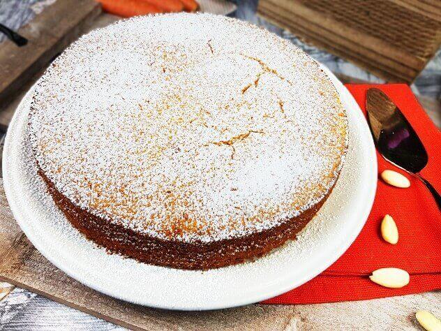 Ricetta Torta di Carote e Mandorle