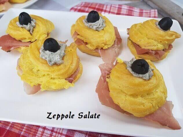 Zeppole di San Giuseppe Salate