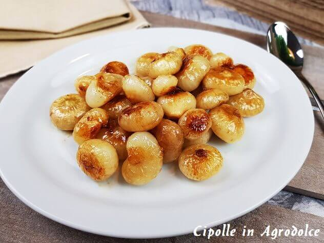 Ricetta Cipolle In Agrodolce