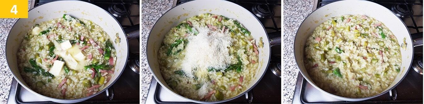 Mantecare il Riso con il Burro e Parmigiano