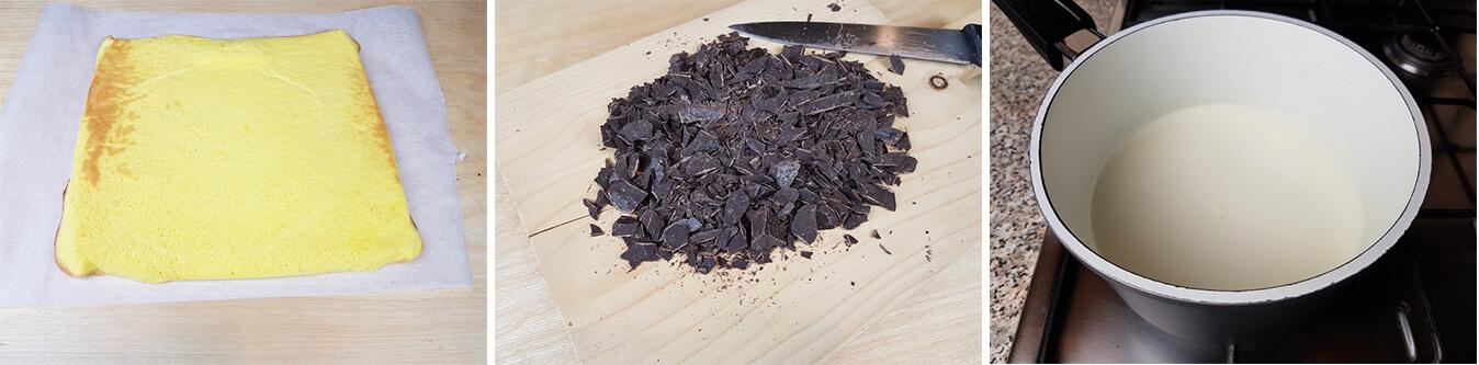 Preparare la Ganache al Cioccolato
